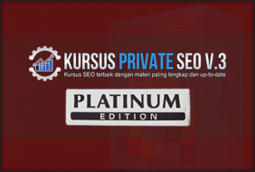 Kursus Private SEO V.3 Platinum