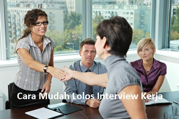 ebook panduan lolos interview kerja