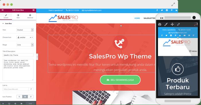 Download Salespro Wordpress Theme