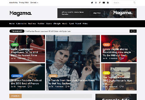 Magzma Wordpress Theme Free