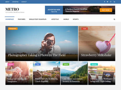 Theme-WordPress-Metro-Magazine-Free