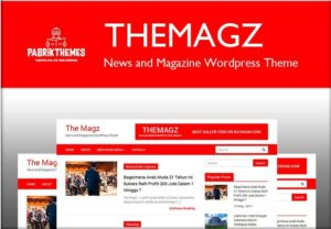 The Magz News and Magazine WordPress Theme