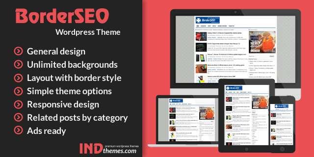 BorderSEO WordPress Theme PROMOCODE