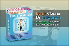 Banjir Closing Di Instagram