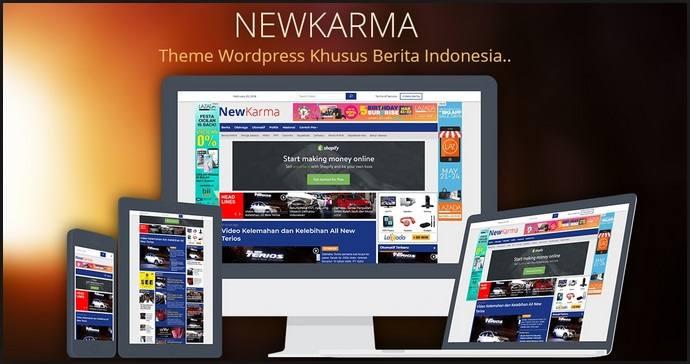 Newkarma Wordpress Theme-2018