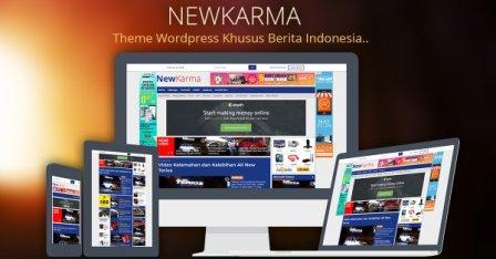 Rilis Newkarma wp theme