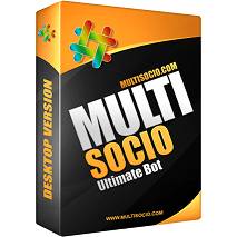 Menggunakan MultiSocio Bot