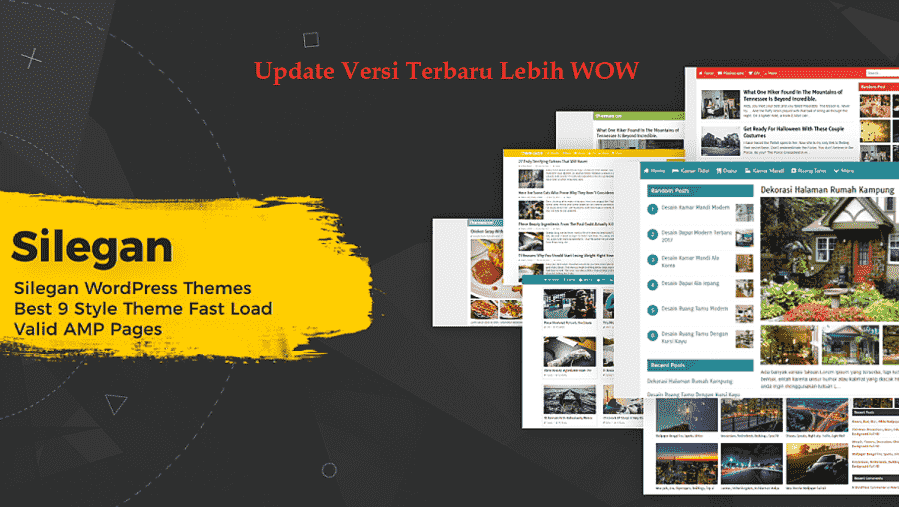AMP WordPress Silegan Themes Diskon 30%