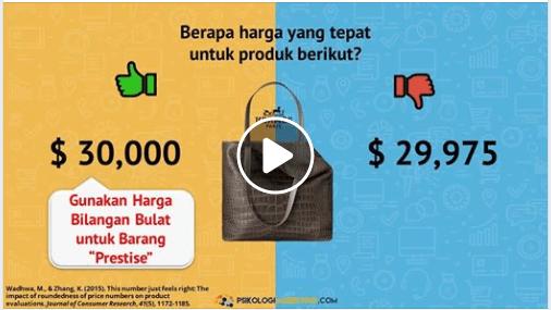 video psikologi marketing