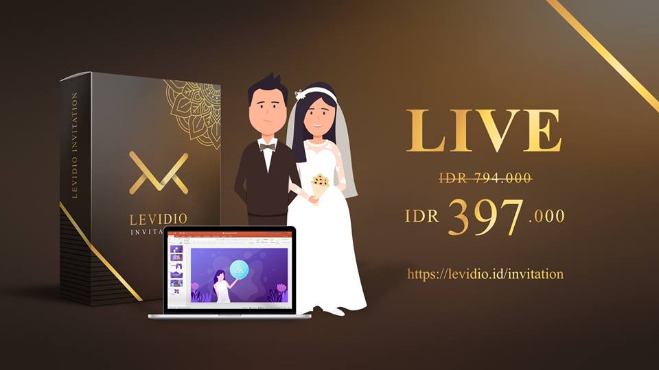 Levidio Invitation ID Promo harga Termurah sekarang juga