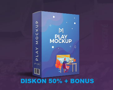 Levidio Play Mockup Diskon 50% + Bonus