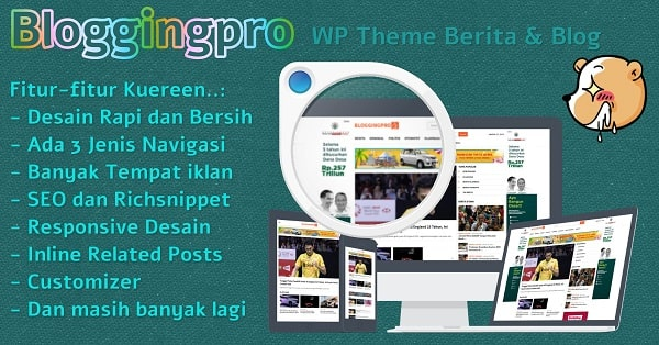 Bloggingpro WordPress Theme-min