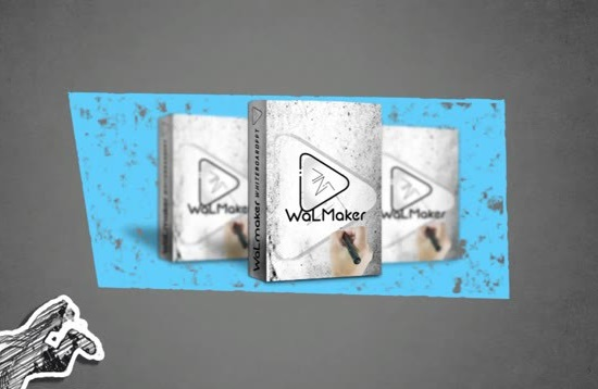 Walmaker Whiteboard Template Powerpoint SUPER BONUS