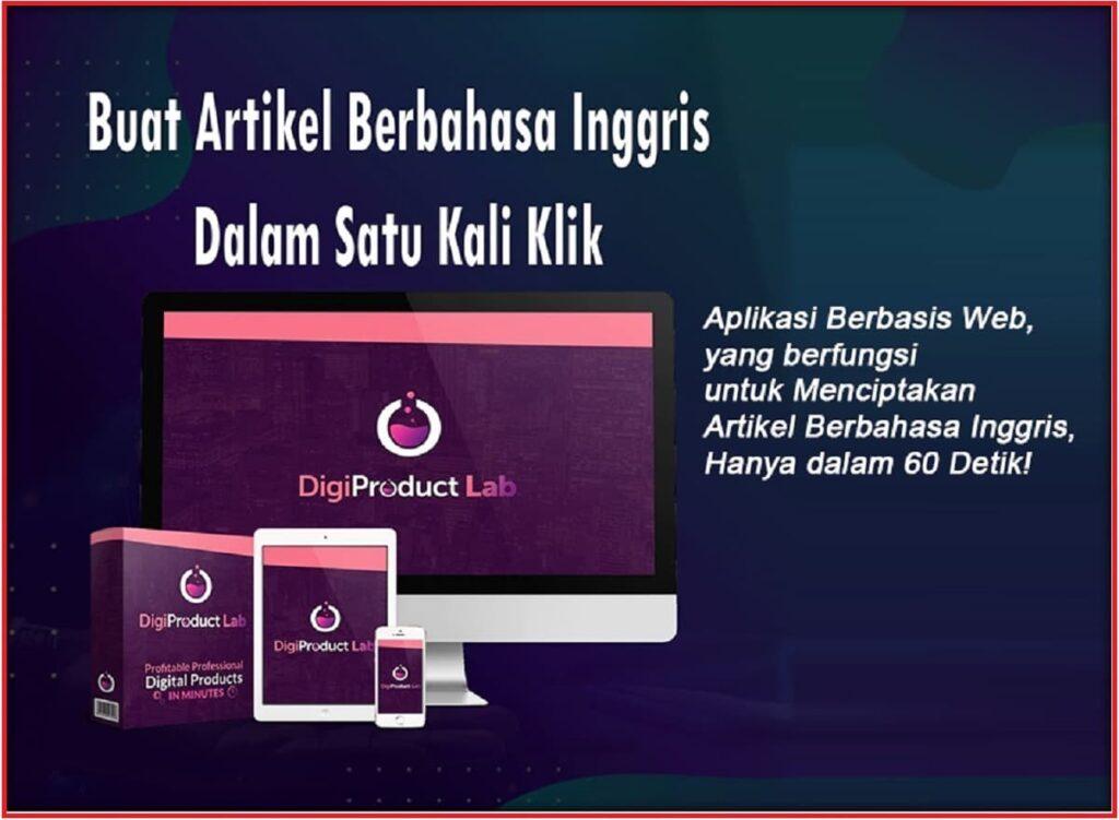 DigiProduct-Lab Aplikasi pembuat Artikel Bahasa Inggris